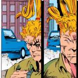 Confirmed canonical: Shatterstar's hair is independently mobile. (X-Force #29)