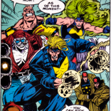 Don't tell them that. Never tell them that. (X-Factor #100)