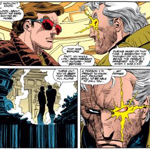 He looks so mad about it! (Uncanny X-Men #210)