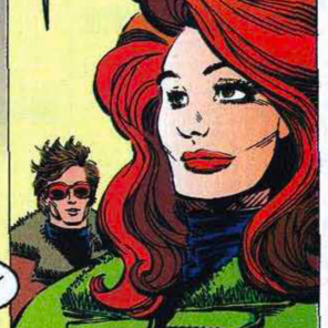What do YOU think Jean is saying here? Fill in her word balloon for a chance to, I dunno, I guess we could publish a gallery of them? (Uncanny X-Men #208)
