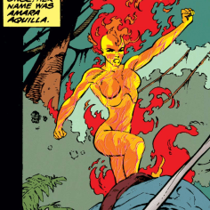 On one hand: Yes, it's still a cool design. On the other hand: Remember when it wasn't sexualized? (X-Force #32)