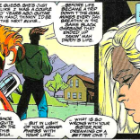 Paige Guthrie, during the two pages when she could briefly turn into a bird. (X-Force #32)