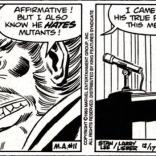 Newspaper strip motivations only get two or three panels' worth of complexity. (Spider-Man: the newspaper comic strip)