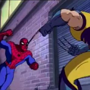 If you have a 90s Marvel cartoon, you work Wolverine in wherever you can. It's the law. (Spider-Man: The Animated Series season 2, episode 17, The Mutant Agenda)