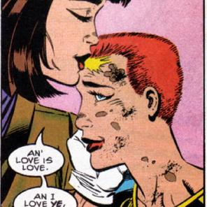 It's the biggest character redemption for Moira MacTaggert until we find out that... eh, that's probably a little too current to spoil. (X-Factor #102)