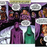The Order of Witnesses is basically the Watchers but smaller and with more clothing. (X-Men: Phoenix #1)