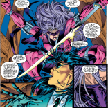 """Also, I brought you some eyes."" (X-Men #31)"