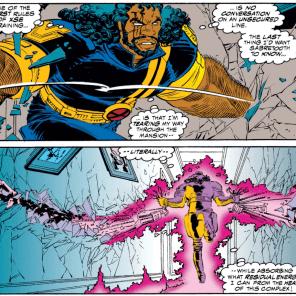 Bishop is rad as hell. (X-Men #311)