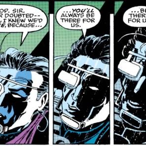 Aw, Bishop. (X-Men Annual #18)