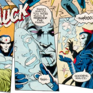 This arc is almost enough to make us feel bad for Malice, which is a very weird sentence to type. (X-Factor #105)