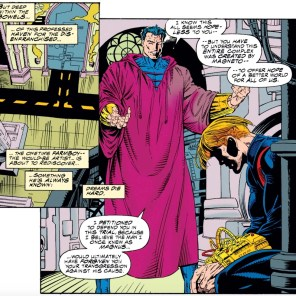 On Fridays, we wear fuchsia. (Uncanny X-Men #315)