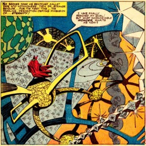 And Steve Ditko? Well, he always had it. (Strange Tales #??)