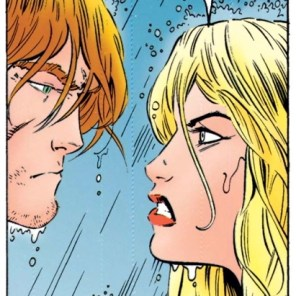 For those of you wondering: Yes, they will eventually hook up. (Uncanny X-Men #317)