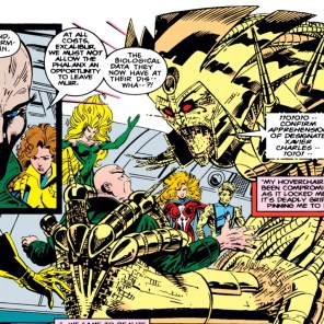 Okay, the Phalanx is legitimately both cool and scary here. (X-Factor #106)