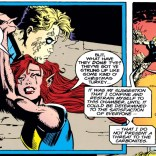 The looks on their respective faces really make this panel. (X-Factor #106)
