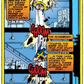 Gravity: she's a harsh mistress. (X-Factor #107)