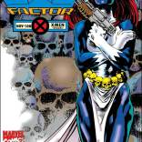 This cover has me thinking again about where she gets the skulls for her belt. (X-Factor #108)