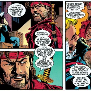 If you didn't know Corsair was doomed before, Havok's last line definitely clinches it. (Tales from the Age of Apocalypse: Sinister Bloodlines)
