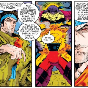 Seriously, HOW? (X-Men: Chronicles #2)