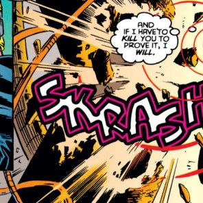 See, this is why you're never going to be Sinister's favorite. This, and your DNA. (Factor X #2)