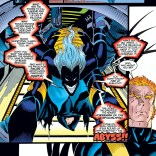 Banshee's facial expression speaks for us all. (Amazing X-Men #2)