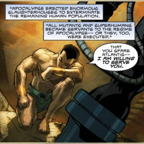 No, seriously, he JUST KEEPS SAYING IT. (What If? Featuring X-Men: Age of Apocalypse)