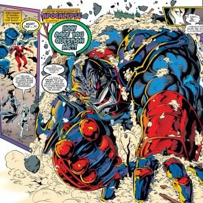 Whoa, Jason - maybe dial it back a little? (X-Man #3)