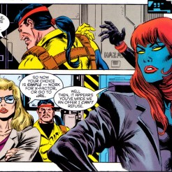 I mean, it's pretty much Freedom Force with all of the pretense removed. (X-Factor #114)