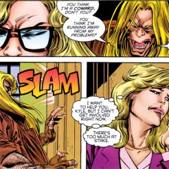 And here I thought X-Force was the only comic using romance comic panels in 1995. (X-Factor #114)