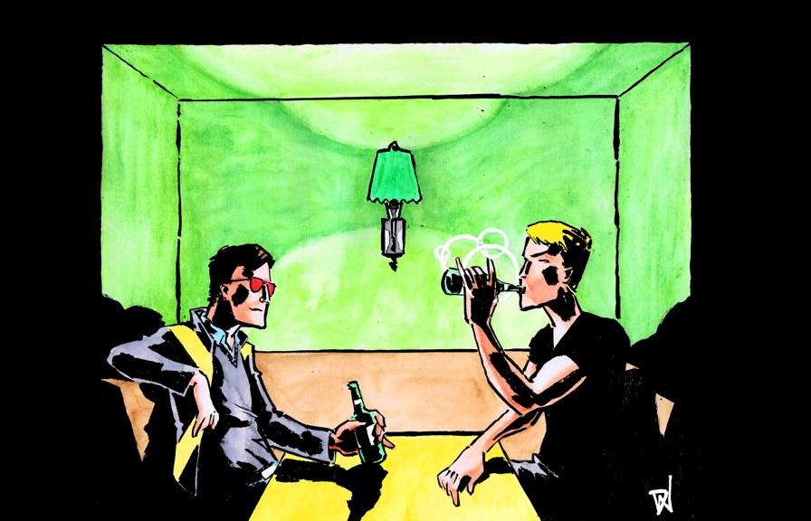 Art by David Wynne. Wanna buy the original? Drop him a line!