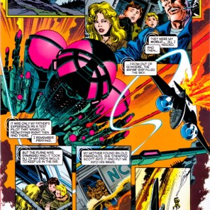 I'm putting all three pages of this flashback in the visual companion, because, while this scene has been shown roughly a zillion times, this one is the gold standard. (X-Factor #115)