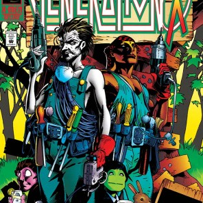 We're grateful for the covers, Chris Bachalo, but they mostly just make us even sadder that you don't pencil these issues. (Generation X #7)