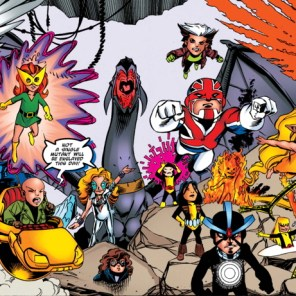 ...that's a lotta X-Babies. (Pint-Sized X-Babies #1)