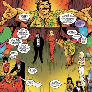 This party is an odd mix of formality levels. (Generation X #10)