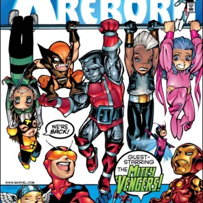 Absolutely iconic cover. (X-Babies: Reborn #1)