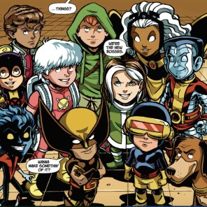 And they all pretty much lived happily ever after, probably, I guess. (X-Babies: Stars Reborn #4)