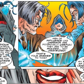 Tessa, Shade Queen of the Hellfire Club. Spider-Man Team-Up #1