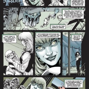 Secret Origins of Hannah Conover, part 1 of 2. (X-Men vs. Brood #1)
