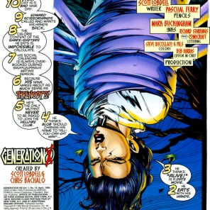 Because you seemed likely to demand it... (Generation X #14)