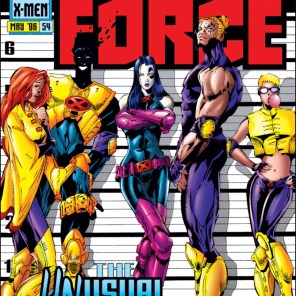 None of these are Keyser Soze. (X-Force #54)