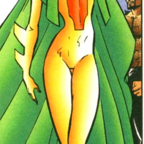 Shackle's costume is somewhat improbable. (X.S.E. #4)