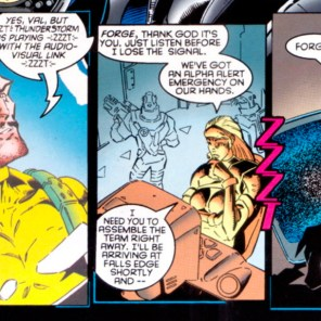 And THAT'S how you get around a collar with a five-second shapeshift limit. (X-Factor #122)