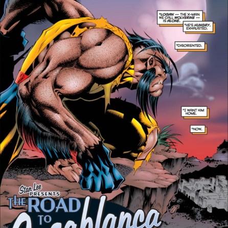 Wolverine, now with 100% less nose. (Uncanny X-Men #332)
