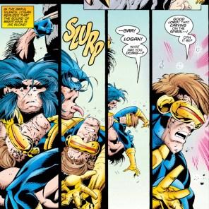 Way to make it weird, Logan. (Wolverine #101)