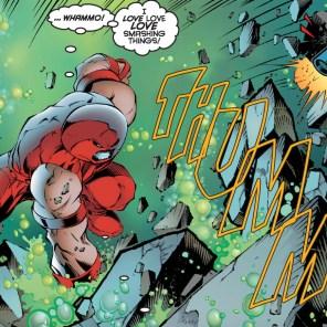 He's a man of simple pleasures. (Uncanny X-Men #334)