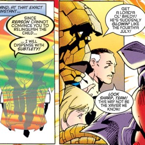 You don't say, Reed. (Fantastic Four #415)