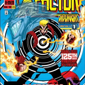 There's... a lot going on on that cover. (X-Factor #125)