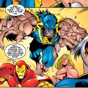 """""""Quick! Let's fight for no reason!"""" (Uncanny X-Men #335)"""