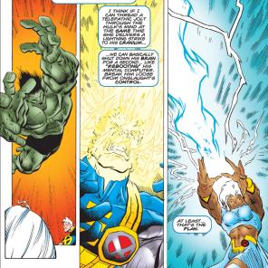 SURE, WHY NOT? (Incredible Hulk #444)