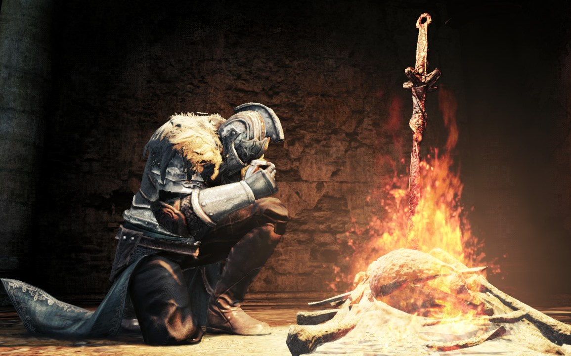 dark souls bonfires